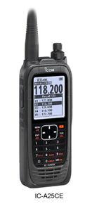 ICOM IC-A25CE Flugfunkgerät 8,33 MHz ETSI Norm 300676-2 deutsches Modell