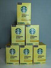 Starbucks Keurig K Cups Veranda Blend 08/2021 6 boxes of 10 pods Blonde Roast