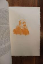 Joseph Ruau Figures Contemporaines Mariani Biographie 1911 1/25 ex. Rare