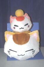 """Nemuneko 3-tiered BIG Plush Doll Furyu 14.8""""  """"Nemuneko""""+""""Konemuneko""""+""""Orange"""""""