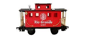 Scientific Toys Rio Grande Caboose 4067 Train Car G Gauge Red
