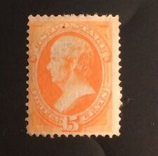 US National Bank Note: Scott #152 Webster 1870-71 Mint OG H F-VF RARE!! $3000