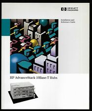 Installation and Reference Guide HP AdvanceStack 10Base- T Hubs #5962-0077