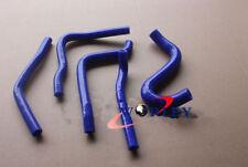 For Kawasaki KX250 KX 250 1990 1991 1992 1993 92 93 Silicone Radiator Hose BLUE