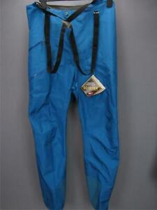 Patagonia Powslayer Balkan Blue Goretex Mens Ski Bibs Pants Large NWT $599