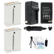 2x EN-EL22 Battery + Charger + BONUS for Nikon 1 J4, nikon 1 S2