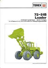 Equipment Brochure - Terex - 72-51B - Wheel Loader (E4500)