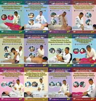 Chinese Massage Treation Diseases due to Energy Stagnation by Massage 12DVDs