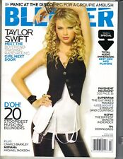 TAYLOR SWIFT Blender Magazine 4/08 MICHAEL JACKSON NO LABEL