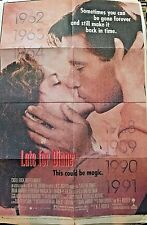 """Late for Dinner Movie Poster Folded One Sheet 40"""" x 27"""""""
