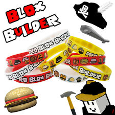 12 Blox Builder Bracelets Birthday Game Truck Party Favor Roblox YouTube Fan Toy