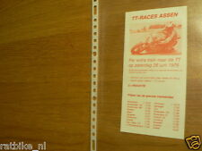 1976 FLYER DUTCH TT ASSEN  TREIN ,TRAIN