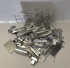 Lot Of Assorted Model Kit Chrome Parts & Pieces