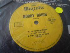 BOBBY DARIN---18 YELLOW ROSES      SINGLE/EP