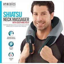 Homedics Shiatsu Kneading Neck & Shoulder Massager w/ Soothing Heat Flex Handles