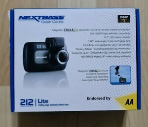 Nextbase 212 Lite 1080p HD Dash Cam *AA Endorsed 1st Class Delivery BNIB