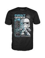 Star Wars First Order Stormtrooper Riot Control Pop! Tees T-Shirt