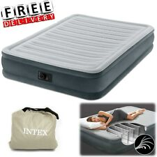 "Full Air Mattress 13"" Raised Full Size Aerobed Intex Built Pump Inflatable Bed"