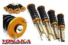 Yonaka Full Coilovers EF Civic CRX 88-91 Shocks Struts Springs Suspension Kit