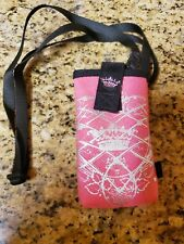Hot Pink Phone Holster with Strap