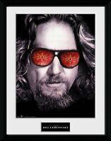 The Big Lebowski The Dude Cinema Collector Print Frame Poster Bild Rahmen