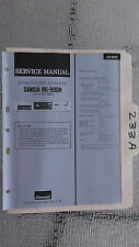 Sansui rg-900r service manual original repair book stereo eq equalizer remote