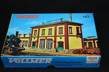W270 VOLLMER train Ho 5610 B Batiment industriel old fashioned factory building