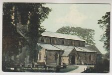 Lancashire postcard - Preston, Penwartham Church (A707)