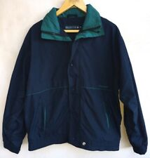 Men's Navy & Green Jacket Size M Henleystorm<NH4470