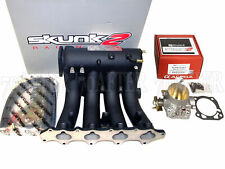 Skunk2 Pro Intake Manifold + 70mm Throttle Body for 93-01 Prelude H22A (Black)