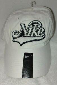 Nike Women White Baseball Cap Sports Hat One Size Brand New w/ Tag