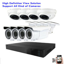 8Channel All-In-One Dvr 1800Tvl 36/72Ir 2.8-12mm Lens Security Camera System 71n