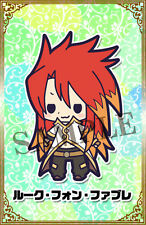 Tales of Friends Luke fon Fabre Kotobukiya the Abyss Rubber Phone Strap NEW
