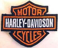 Iron On/ Sew On Embroidered Patch Badge Bike Logo Har HD Hog American Cruiser