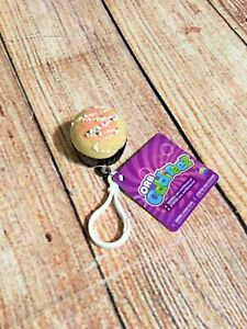 "Orb Odditeez Cupcake Squishy Keychain Backpack Pull 1.5"" Cake Sprinkles"