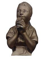Vintage Boy Gold With flute E Villanis