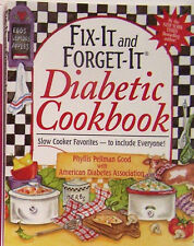 Fix-It and Forget-It Diabetic Cookbook Slow Cooker Favorites Hardcover Edition