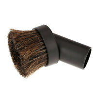 32mm Dusting Brush Dust Tool Attachment for Vacuum Cleaner Round Horse Hair B8G6