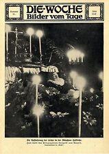 Aufbahrung des Prinzregenten Luitpold v.Bayern in der Münchner Hofkirche c.1912