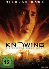 DVD KNOWING - Die Zukunft endet jetzt # Nicolas Cage ++NEU