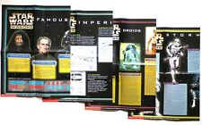 Star Wars Missions Game, Scholastic - 7 Game Posters - 1997-1999