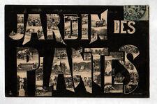 PARIS Zoo / SOUVENIR de ... ANIMAUX au JARDIN des PLANTES en 1906