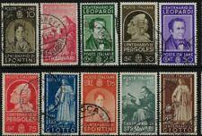 1937 Italia Regno Centenari uomini illustri usato