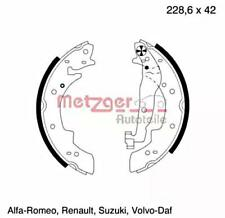 Metzger Brake Shoe Set For PEUGEOT RENAULT VOLVO TALBOT SUZUKI VW 204 423804