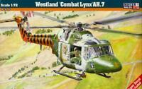 WESTLAND LYNX AH.7 (BRITISH ARMY AIR CORPS & MARINES MKGS)#D31 1/72 MISTERCRAFT