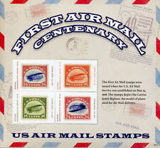 Mustique Gren St Vincent 2018 MNH First Airmail Curtiss Jenny 4v M/S Stamps