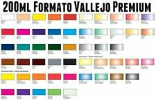 choose any 6 x Premium Color 60ml bottles  brush or airbrush ready Vallejo paint