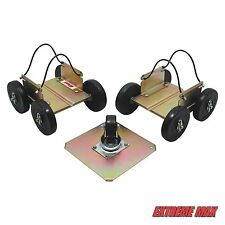 Extreme Max Power Wheels Driveable Snowmobile Dollies - Shop, Trailer