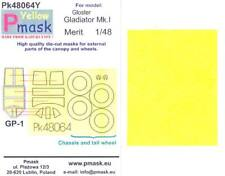 Model Maker 1/48 GLOSTER GLADIATOR Mk.I Kabuki Tape Paint Mask Set for Merit Kit