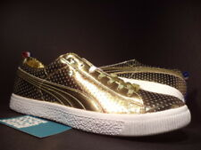 PUMA CLYDE x UNDFTD GAMETIME PROMO UNDEFEATED GOLD RED WHITE BLUE 354273-01 8.5